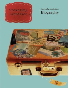 "Poster for the University of Michigan ""Traveling Libraries"" exhibits"